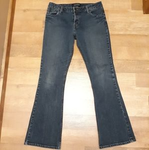 Levi Strauss Low rise Flair Blue Jeans